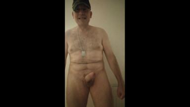 cheeky nude soldier stripper