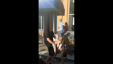 trans guy fucked in the street by husband