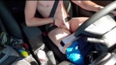 trans guy driving