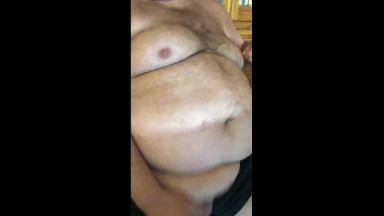 super chubby bear with big tits jorking off