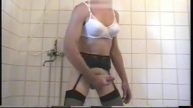 jerk off in the shower