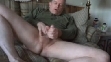 taking off my jeans and masturbating