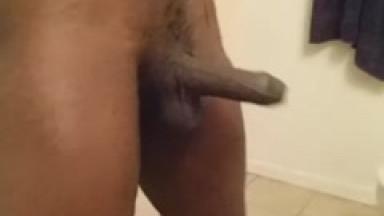 big dick flops slow motion