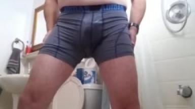 wetting my addidas underwear