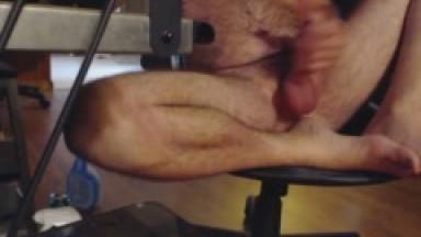 redneck husky chronic bate watch me shave an stroke my fatty