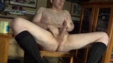long black sock masturbation