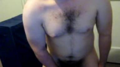 jacking off naked